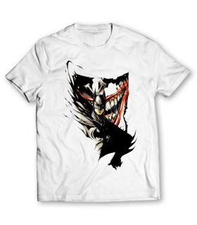 batman and joker printed graphic t-shirt